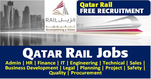 وظائف قطر للسكك الحديدية Qatar Rail Careers 2019