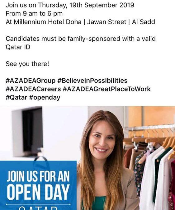 اليوم المفتوح للتوظيف في قطر
