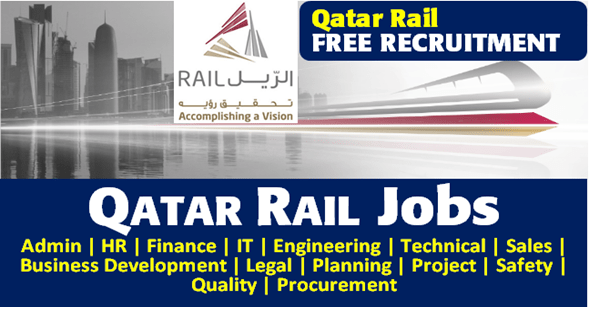 وظائف قطر للسكك الحديدية Qatar Rail Careers 2020